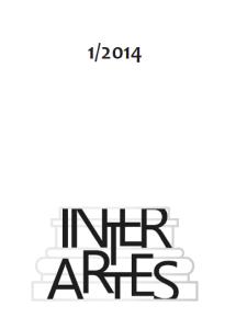 Inter Artes 1 (2014) - okładka